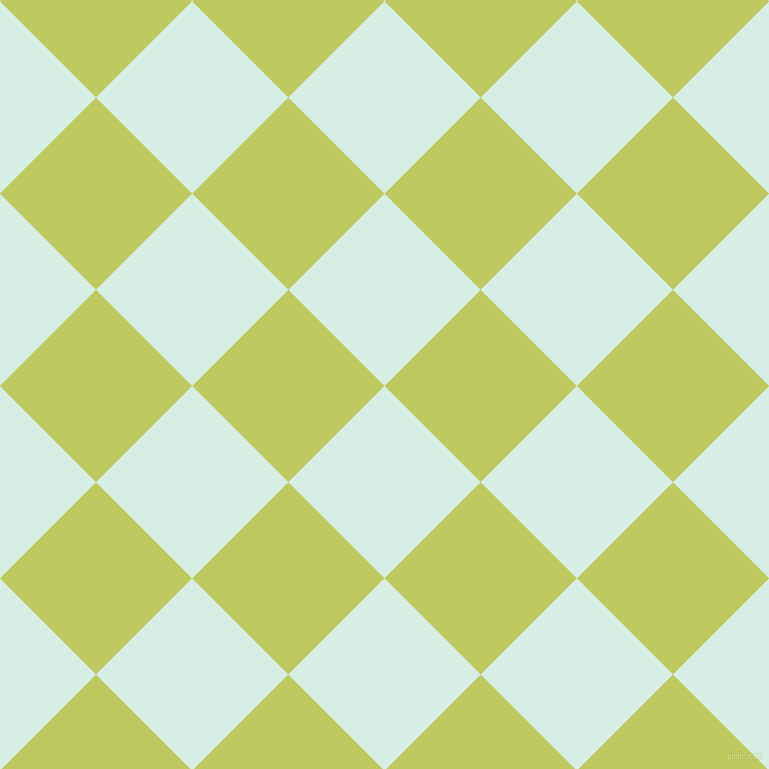45/135 degree angle diagonal checkered chequered squares checker pattern checkers background, 136 pixel square size, , White Ice and Wild Willow checkers chequered checkered squares seamless tileable