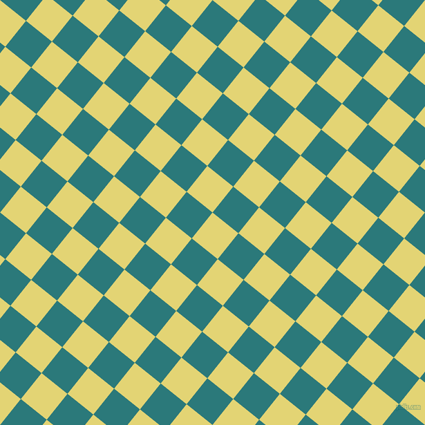 51/141 degree angle diagonal checkered chequered squares checker pattern checkers background, 48 pixel square size, , Wild Rice and Atoll checkers chequered checkered squares seamless tileable