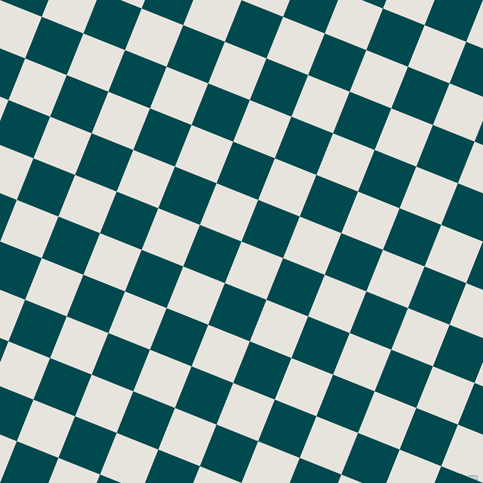 68/158 degree angle diagonal checkered chequered squares checker pattern checkers background, 63 pixel square size, , Wild Sand and Sherpa Blue checkers chequered checkered squares seamless tileable