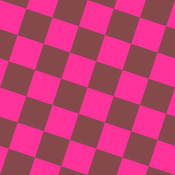 72/162 degree angle diagonal checkered chequered squares checker pattern checkers background, 95 pixel square size, , Wild Strawberry and Solid Pink checkers chequered checkered squares seamless tileable