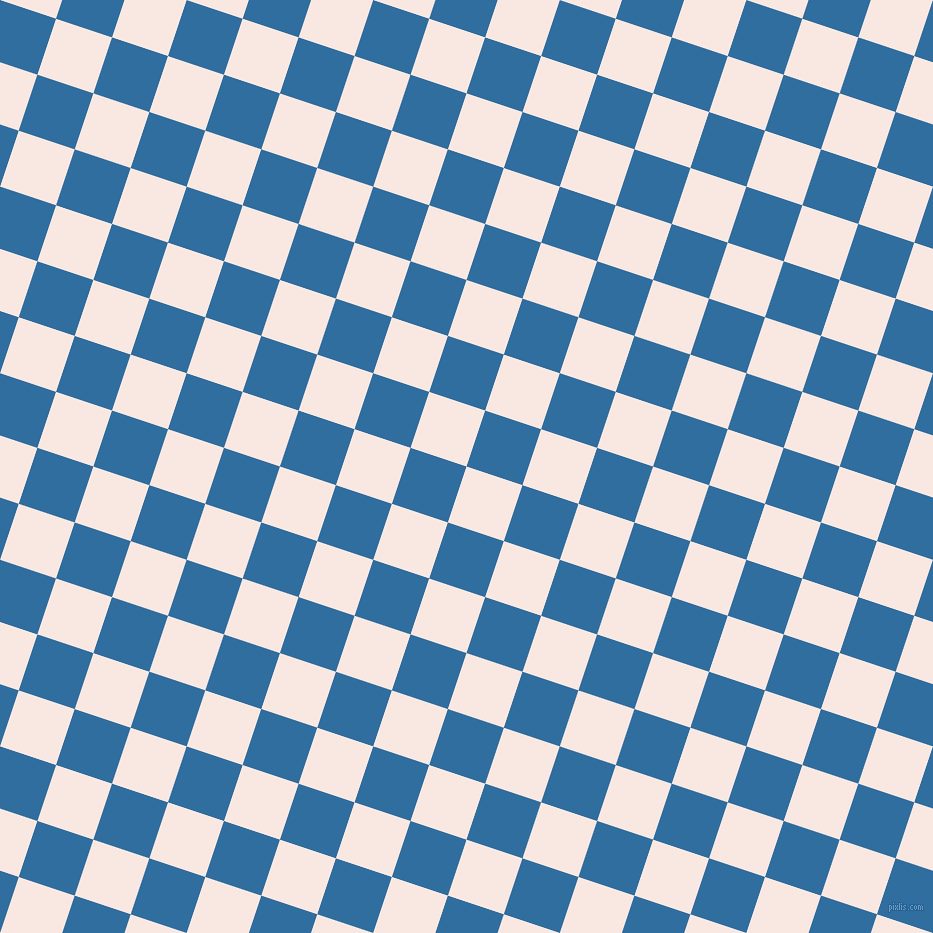 72/162 degree angle diagonal checkered chequered squares checker pattern checkers background, 59 pixel squares size, , Wisp Pink and Lochmara checkers chequered checkered squares seamless tileable