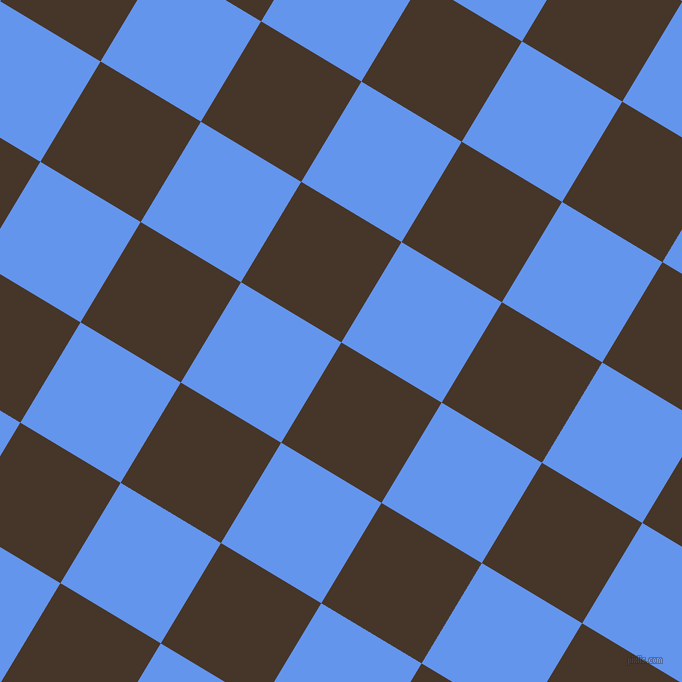 59/149 degree angle diagonal checkered chequered squares checker pattern checkers background, 117 pixel squares size, , Woodburn and Cornflower Blue checkers chequered checkered squares seamless tileable