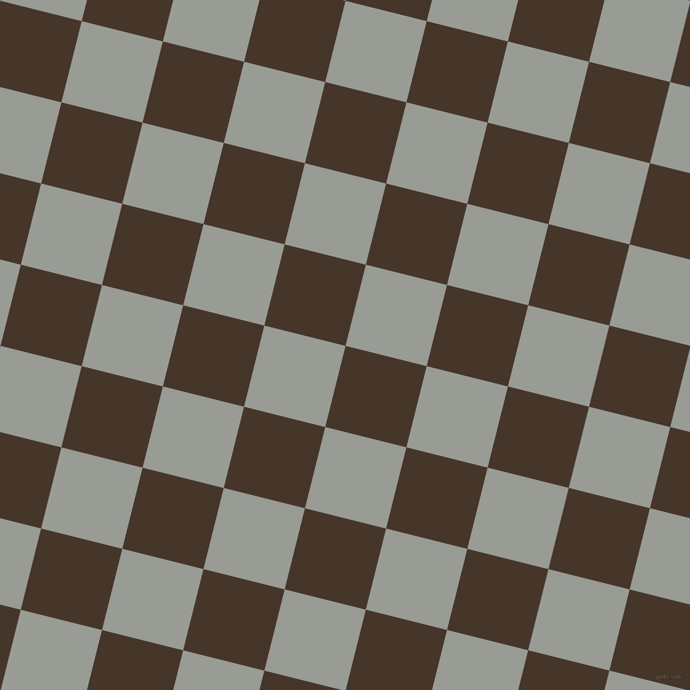 76/166 degree angle diagonal checkered chequered squares checker pattern checkers background, 118 pixel square size, , Woodburn and Delta checkers chequered checkered squares seamless tileable