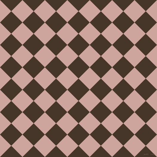 45/135 degree angle diagonal checkered chequered squares checker pattern checkers background, 53 pixel square size, , Woodburn and Eunry checkers chequered checkered squares seamless tileable
