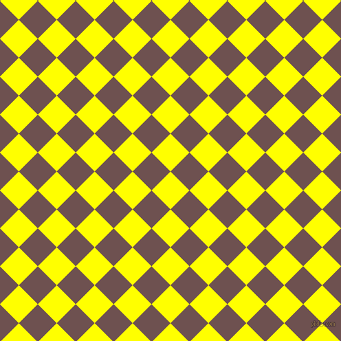 45/135 degree angle diagonal checkered chequered squares checker pattern checkers background, 39 pixel squares size, , Yellow and Buccaneer checkers chequered checkered squares seamless tileable