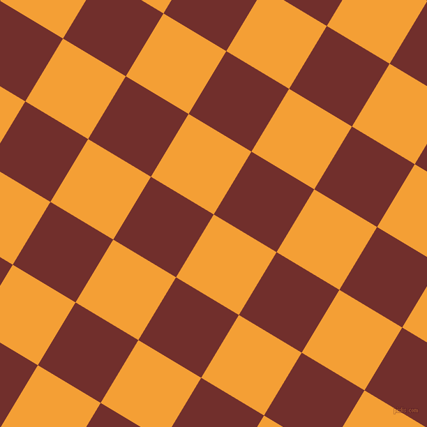 59/149 degree angle diagonal checkered chequered squares checker pattern checkers background, 105 pixel square size, , Yellow Sea and Auburn checkers chequered checkered squares seamless tileable