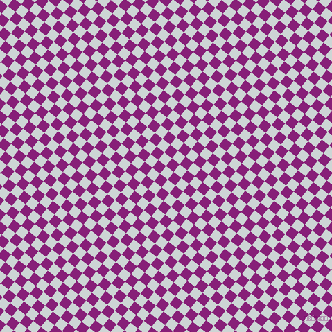 52/142 degree angle diagonal checkered chequered squares checker pattern checkers background, 14 pixel square size, , Zumthor and Dark Purple checkers chequered checkered squares seamless tileable