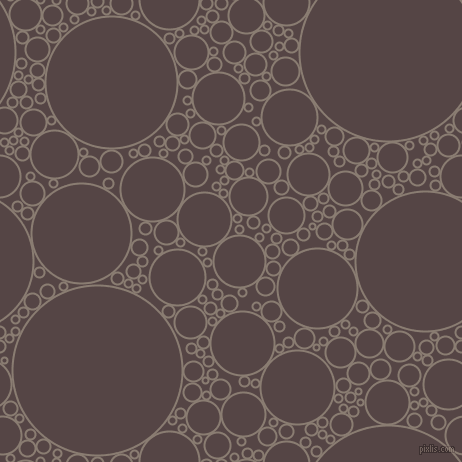 bubbles, circles, sponge, big, medium, small, 2 pixel line width, Americano and Woody Brown circles bubbles sponge soap seamless tileable