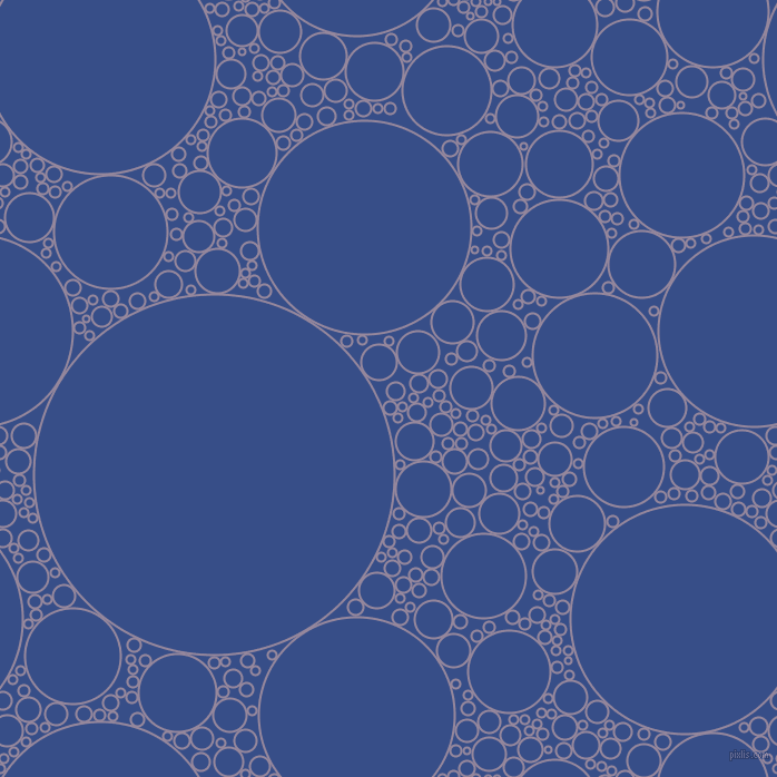 bubbles, circles, sponge, big, medium, small, 2 pixel line width, Amethyst Smoke and Tory Blue circles bubbles sponge soap seamless tileable