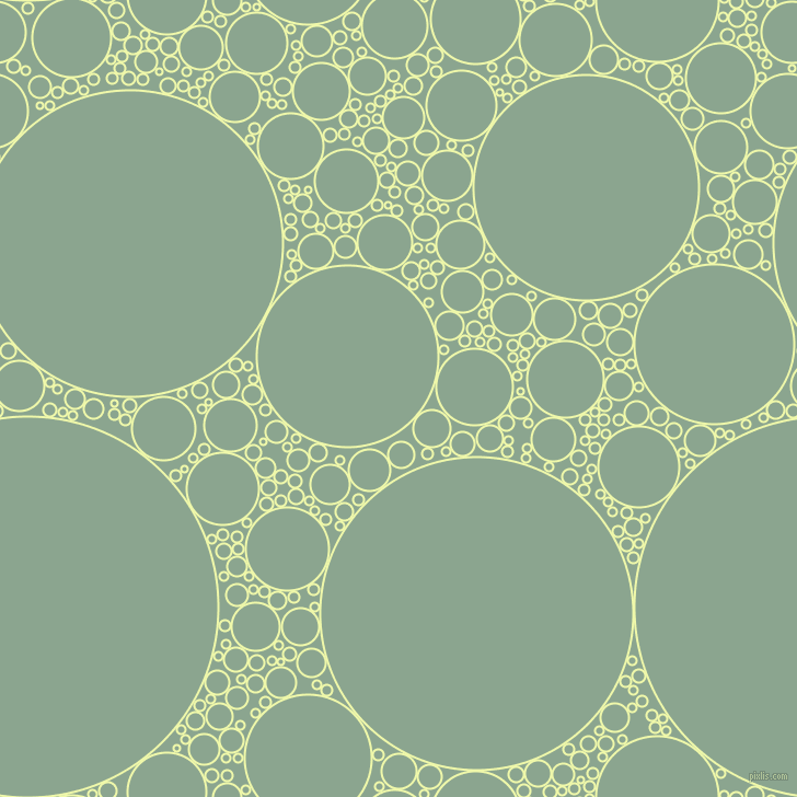 bubbles, circles, sponge, big, medium, small, 2 pixel line width, Australian Mint and Envy circles bubbles sponge soap seamless tileable