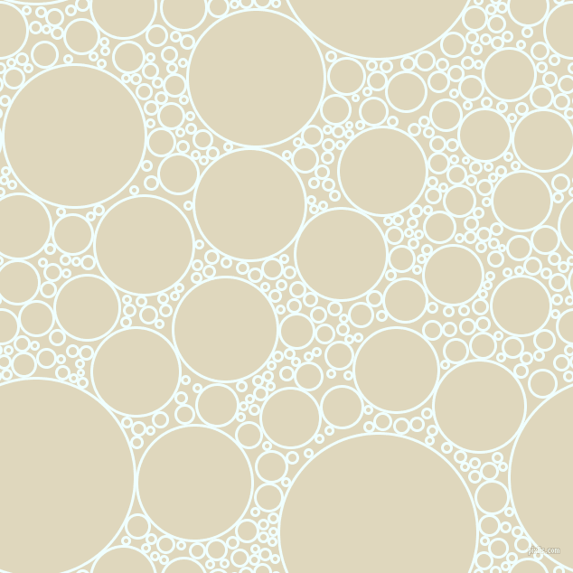 bubbles, circles, sponge, big, medium, small, 3 pixel line width, Azure and Wheatfield circles bubbles sponge soap seamless tileable