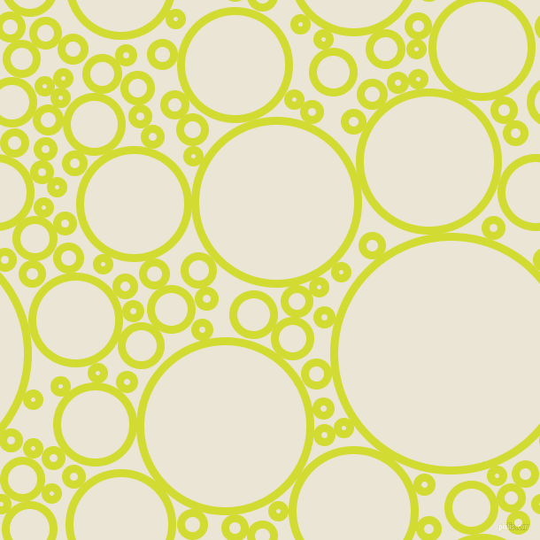 bubbles, circles, sponge, big, medium, small, 9 pixel line width, Bitter Lemon and Cararra circles bubbles sponge soap seamless tileable