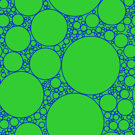 Blue and lime green circles bubbles sponge soap seamless for Lime and blue