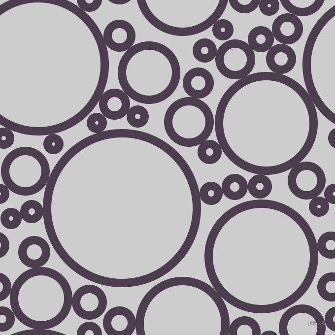 bubbles, circles, sponge, big, medium, small, 17 pixel line width, Bossanova and Very Light Grey circles bubbles sponge soap seamless tileable