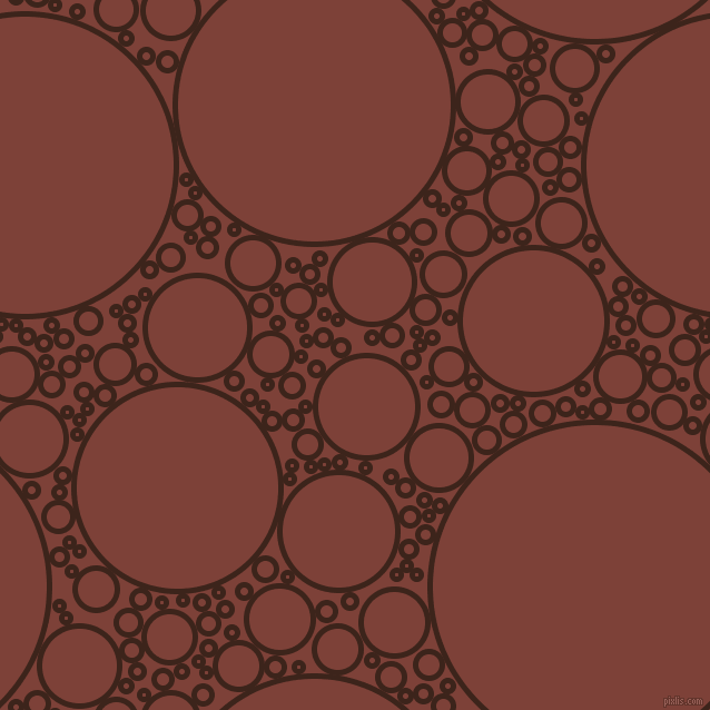 bubbles, circles, sponge, big, medium, small, 5 pixel line width, Brown Pod and Red Robin circles bubbles sponge soap seamless tileable