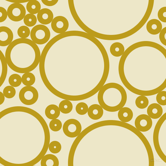 bubbles, circles, sponge, big, medium, small, 17 pixel line width, Buddha Gold and Half And Half circles bubbles sponge soap seamless tileable
