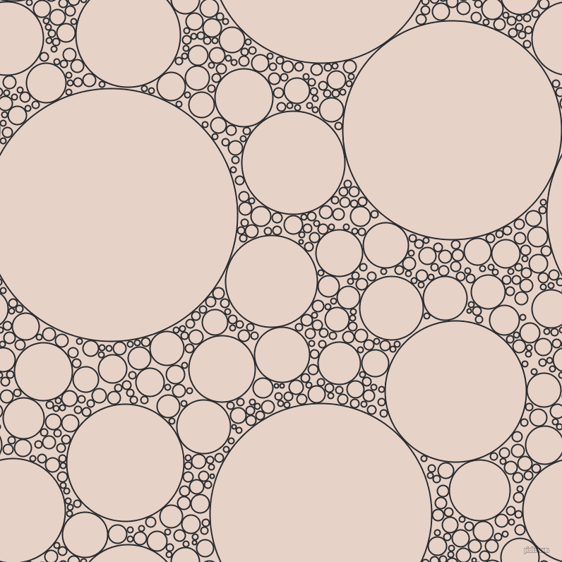 bubbles, circles, sponge, big, medium, small, 2 pixel line width, Bunker and Bizarre circles bubbles sponge soap seamless tileable