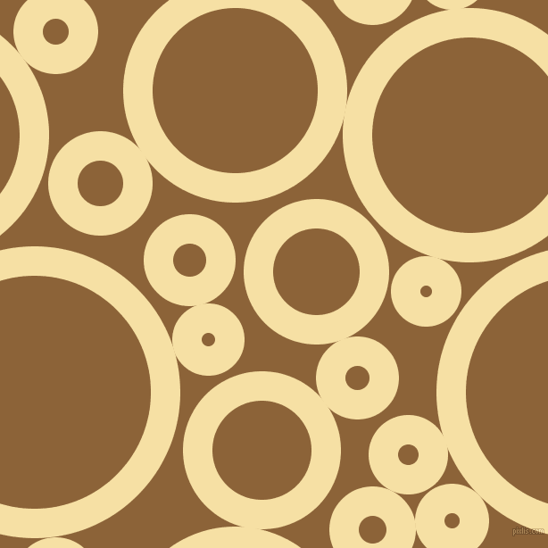 bubbles, circles, sponge, big, medium, small, 33 pixel line width, Buttermilk and McKenzie circles bubbles sponge soap seamless tileable