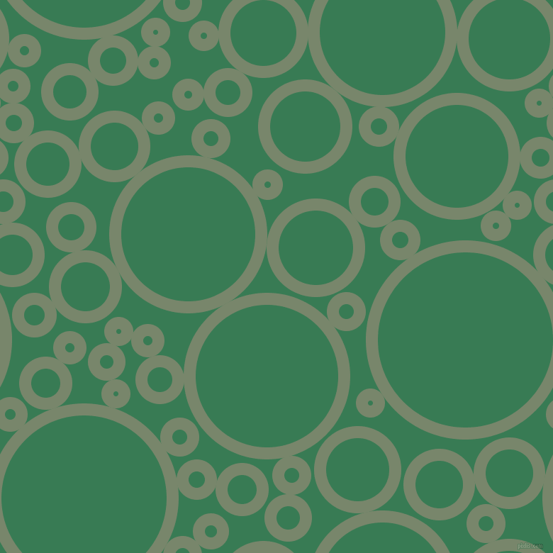 bubbles, circles, sponge, big, medium, small, 17 pixel line width, Camouflage Green and Amazon circles bubbles sponge soap seamless tileable