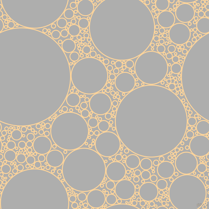 bubbles, circles, sponge, big, medium, small, 3 pixel line width, Caramel and Bombay circles bubbles sponge soap seamless tileable