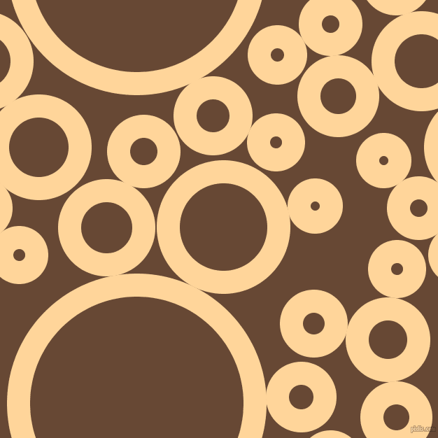 bubbles, circles, sponge, big, medium, small, 33 pixel line width, Caramel and Jambalaya circles bubbles sponge soap seamless tileable