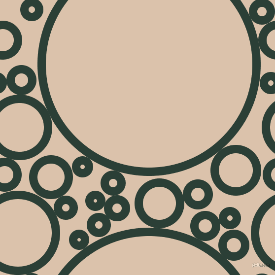 bubbles, circles, sponge, big, medium, small, 17 pixel line width, Celtic and Bone circles bubbles sponge soap seamless tileable