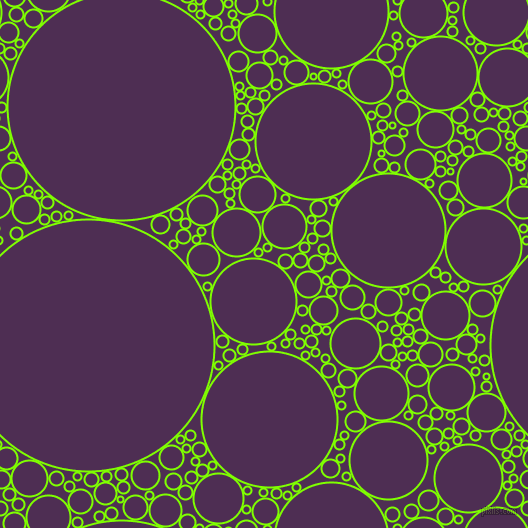bubbles, circles, sponge, big, medium, small, 2 pixel line width, Chartreuse and Hot Purple circles bubbles sponge soap seamless tileable