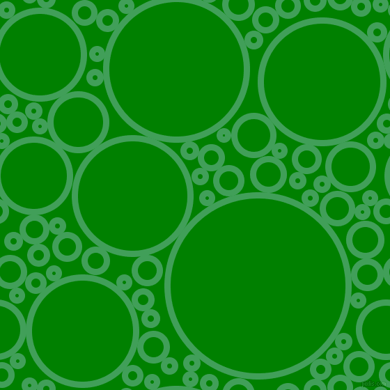 bubbles, circles, sponge, big, medium, small, 9 pixel line width, Chateau Green and Green circles bubbles sponge soap seamless tileable