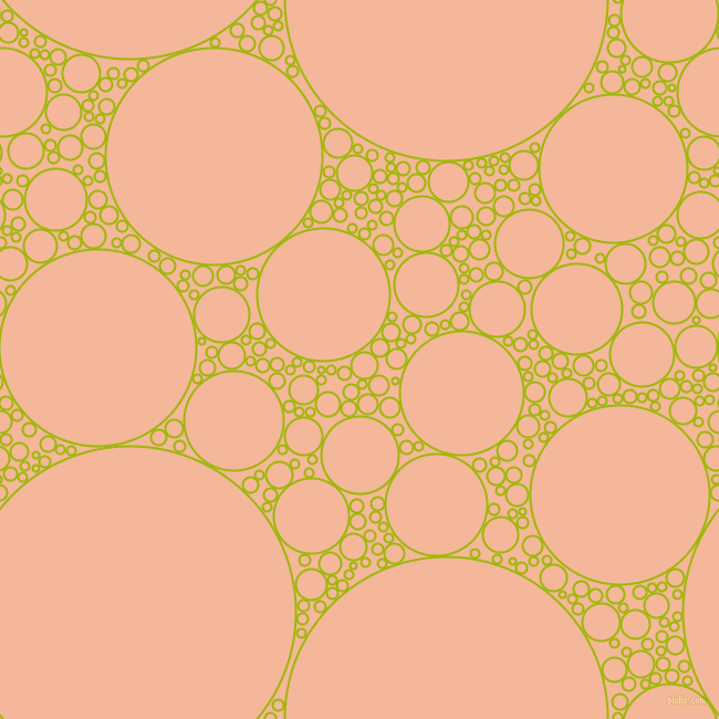 bubbles, circles, sponge, big, medium, small, 2 pixel line width, Citrus and Mandys Pink circles bubbles sponge soap seamless tileable