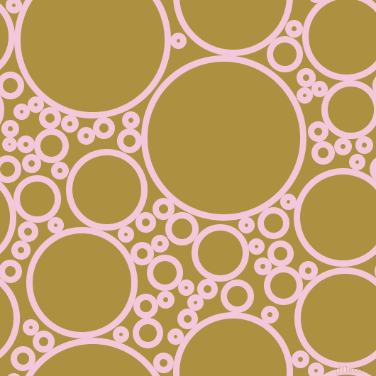 bubbles, circles, sponge, big, medium, small, 9 pixel line widthClassic Rose and Turmeric circles bubbles sponge soap seamless tileable