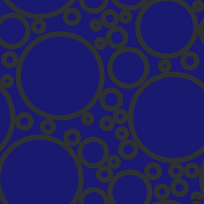 bubbles, circles, sponge, big, medium, small, 17 pixel line width, Cod Grey and Midnight Blue circles bubbles sponge soap seamless tileable