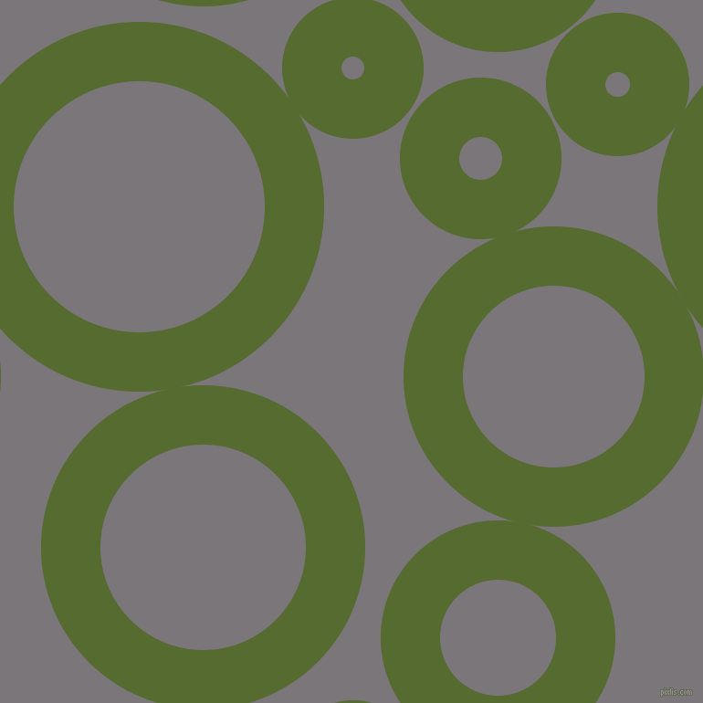 bubbles, circles, sponge, big, medium, small, 65 pixel line width, Dark Olive Green and Monsoon circles bubbles sponge soap seamless tileable