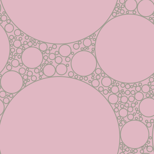 bubbles, circles, sponge, big, medium, small, 3 pixel line width, Dawn and Melanie circles bubbles sponge soap seamless tileable