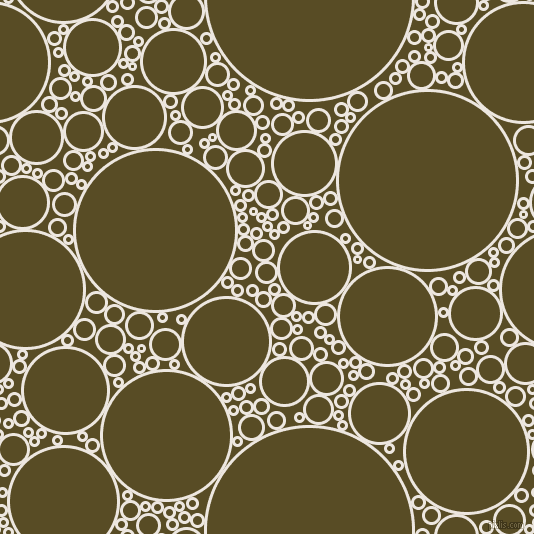 bubbles, circles, sponge, big, medium, small, 3 pixel line width, Desert Storm and Bronze Olive circles bubbles sponge soap seamless tileable