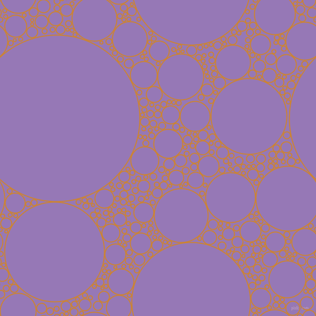 bubbles, circles, sponge, big, medium, small, 2 pixel line width, Dixie and Purple Mountain