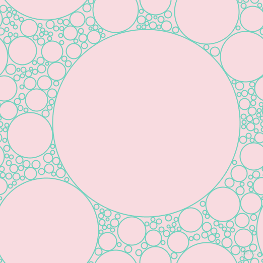 bubbles, circles, sponge, big, medium, small, 2 pixel line width, Downy and Carousel Pink circles bubbles sponge soap seamless tileable
