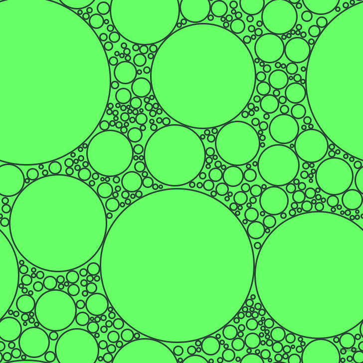 bubbles, circles, sponge, big, medium, small, 3 pixel line width, English Holly and Screamin
