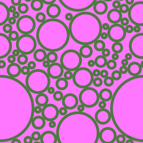 bubbles, circles, sponge, big, medium, small, 9 pixel line width, Fern Green and Fuchsia Pink circles bubbles sponge soap seamless tileable