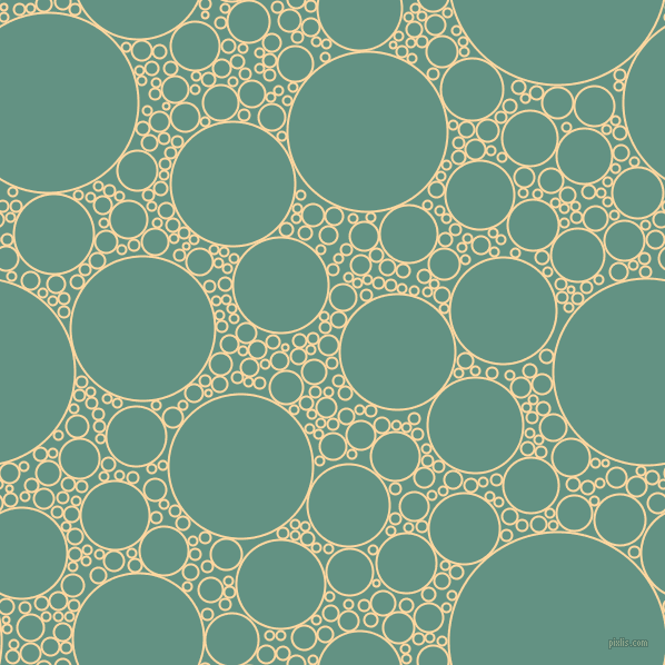 bubbles, circles, sponge, big, medium, small, 2 pixel line width, Frangipani and Patina circles bubbles sponge soap seamless tileable