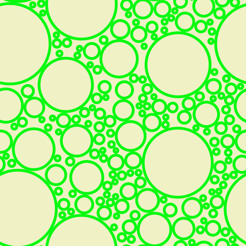 bubbles, circles, sponge, big, medium, small, 9 pixel line width, Free Speech Green and Spring Sun circles bubbles sponge soap seamless tileable