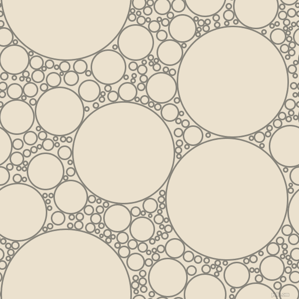 bubbles, circles, sponge, big, medium, small, 3 pixel line width, Friar Grey and Bleach White circles bubbles sponge soap seamless tileable
