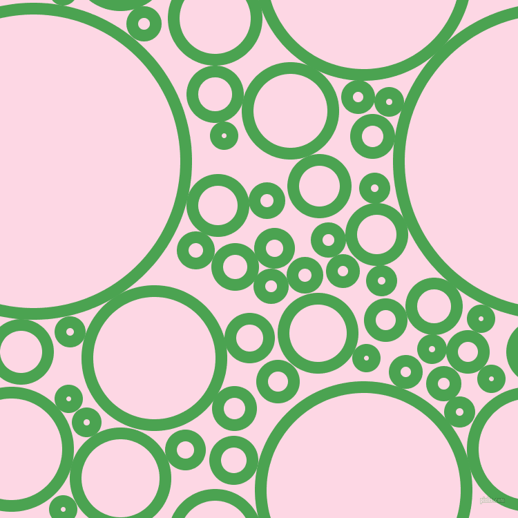 bubbles, circles, sponge, big, medium, small, 17 pixel line width, Fruit Salad and Pig Pink circles bubbles sponge soap seamless tileable