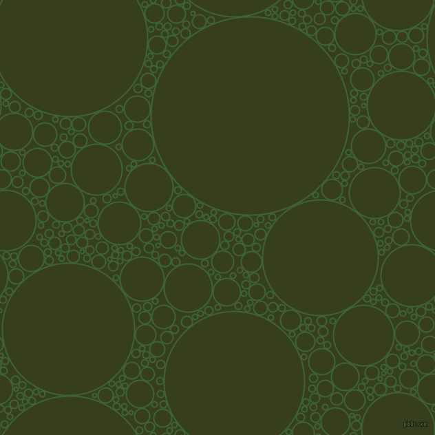 bubbles, circles, sponge, big, medium, small, 2 pixel line width, Green House and Turtle Green circles bubbles sponge soap seamless tileable