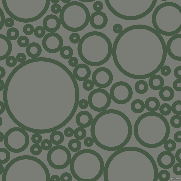 bubbles, circles, sponge, big, medium, small, 17 pixel line width, Grey-Asparagus and Gunsmoke circles bubbles sponge soap seamless tileable