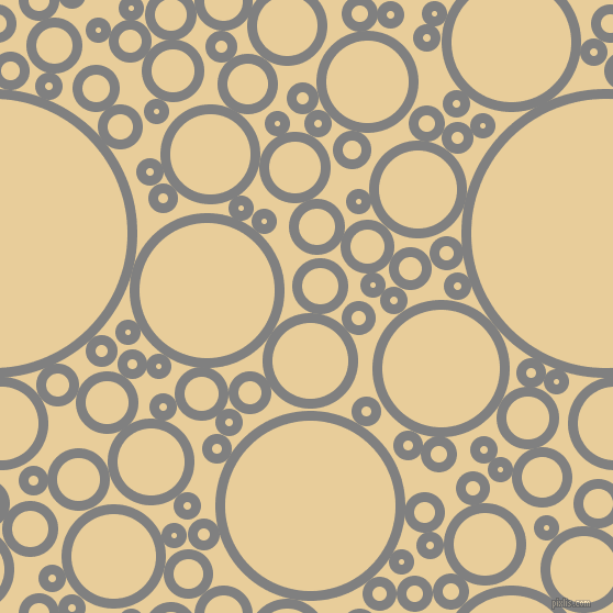 bubbles, circles, sponge, big, medium, small, 9 pixel line width, Grey and Chamois circles bubbles sponge soap seamless tileable