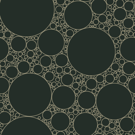 bubbles, circles, sponge, big, medium, small, 2 pixel line width, Grey Olive and Midnight Moss circles bubbles sponge soap seamless tileable