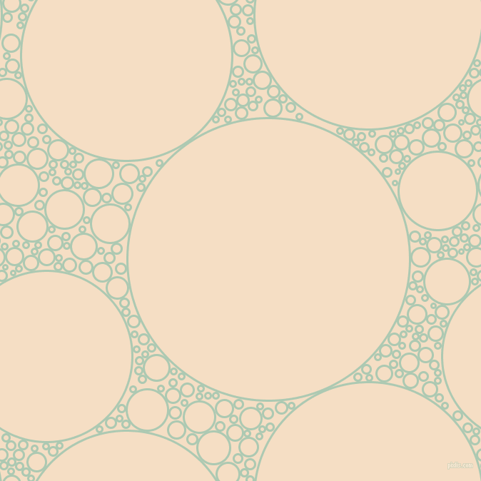 bubbles, circles, sponge, big, medium, small, 3 pixel line width, Gum Leaf and Sazerac circles bubbles sponge soap seamless tileable