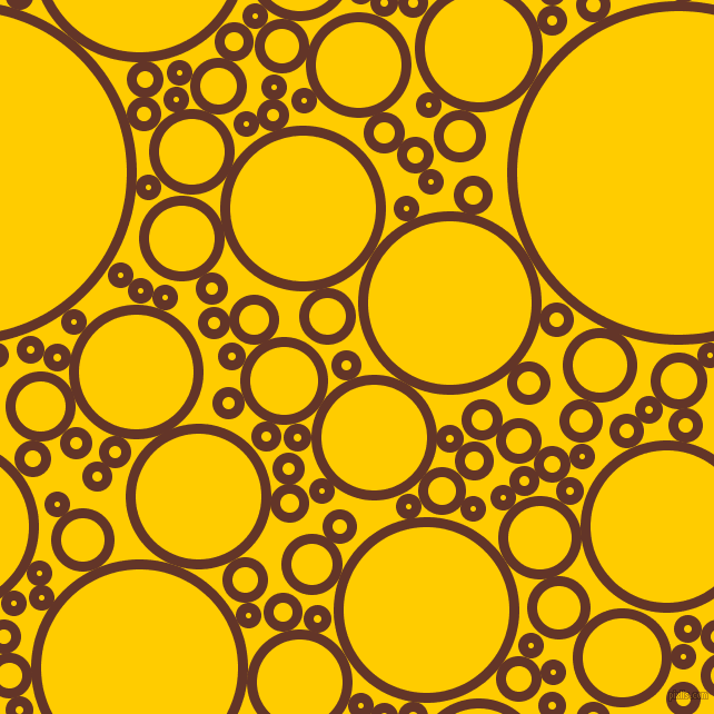 bubbles, circles, sponge, big, medium, small, 9 pixel line width, Hairy Heath and Tangerine Yellow circles bubbles sponge soap seamless tileable