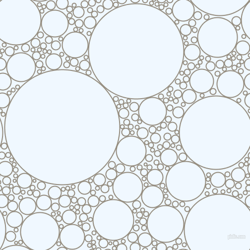 bubbles, circles, sponge, big, medium, small, 2 pixel line width, Heathered Grey and Alice Blue circles bubbles sponge soap seamless tileable