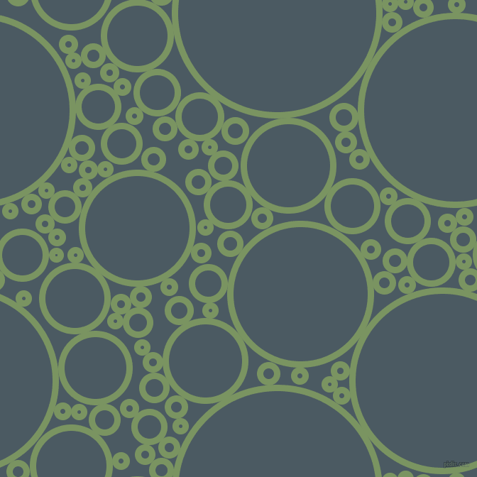 bubbles, circles, sponge, big, medium, small, 9 pixel line width, Highland and Fiord circles bubbles sponge soap seamless tileable